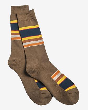 Brown Stripes Socks