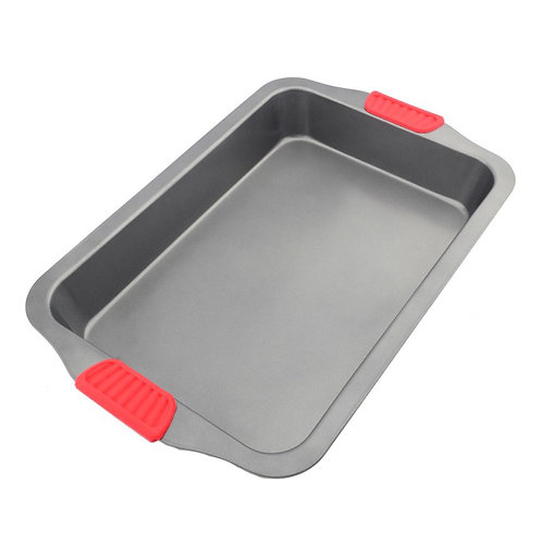 Baking Pan With Anti-Scald Silicone Handle