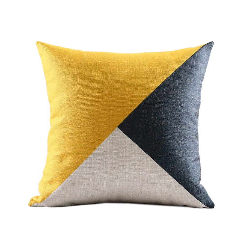 Sanín Geometric Throw Pillow Sanctuary