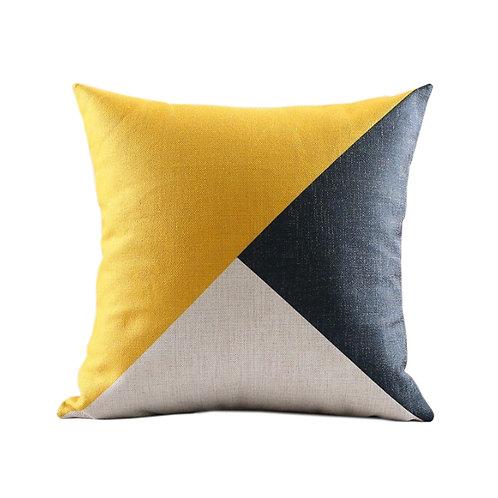 Sanín Geometric Throw Pillow