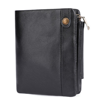 Genuine Leather Continental Wallet