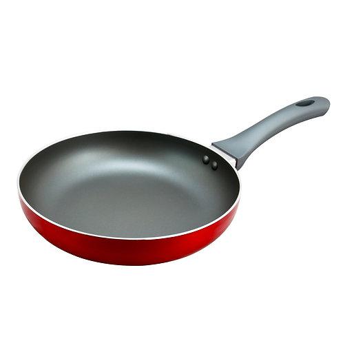 9.5 inch Aluminum Frying Pan in Red
