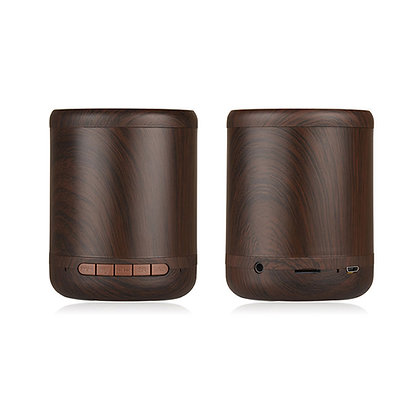 EK1550 Wooden Cylinder Bluetooth Speaker