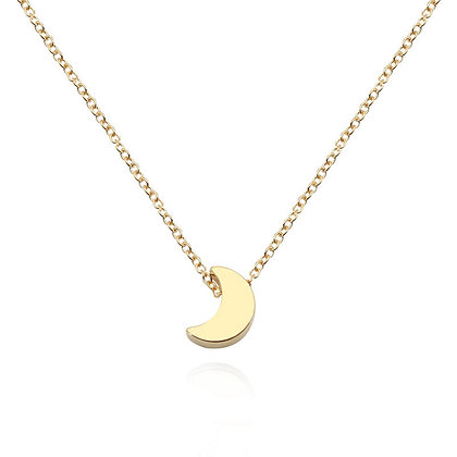 Crescent Moon Shaped Pendent