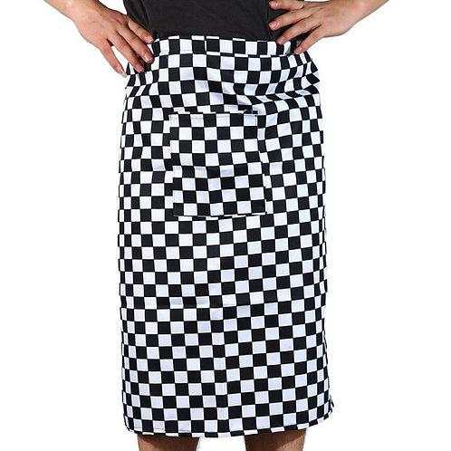 Chef's Checkered Half Style Apron