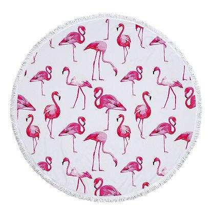 Plain Flamingo Beach Roundie