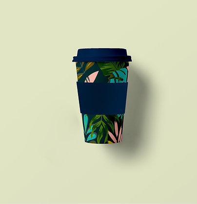 Tropical Bamboo Fiber Mug