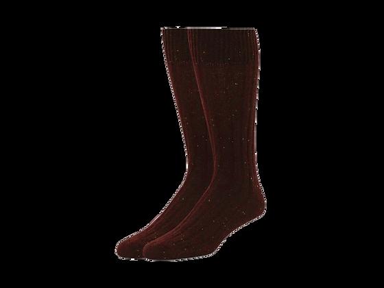 Red Crew Socks