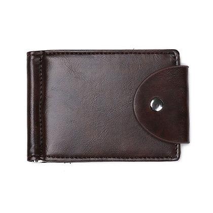 Slim Bifold Leather Wallet