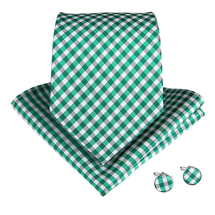 Green Plaid Set