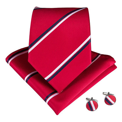 Red Striped Set