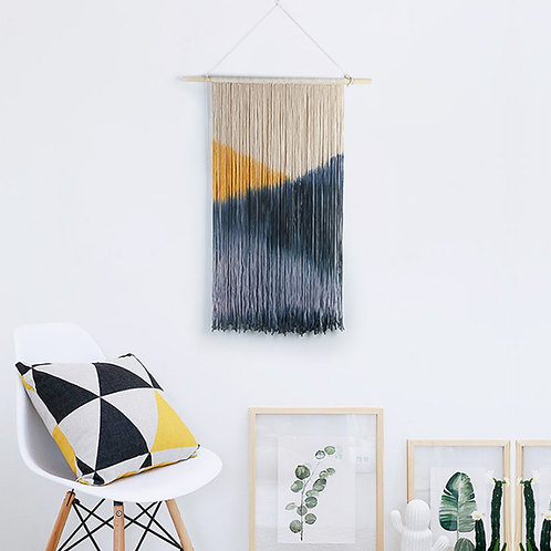Dip Dye Macramé Wall Hanging
