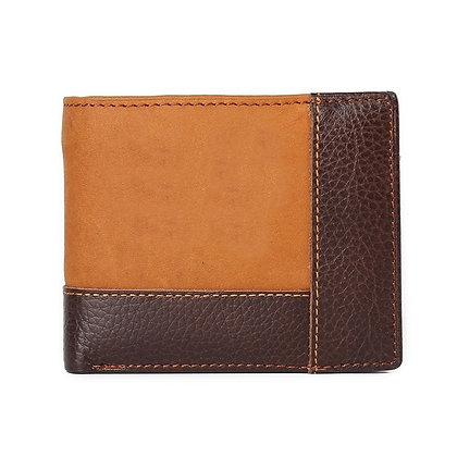 Leather and Suede Bifold