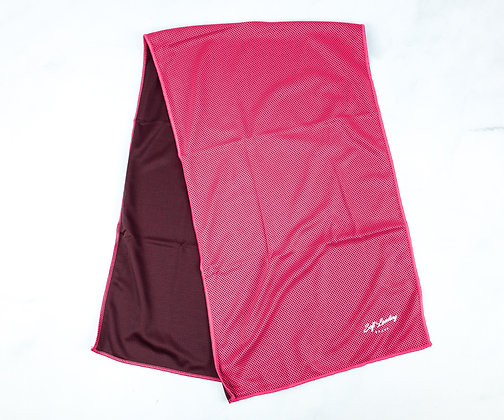 Red Cooling Towel