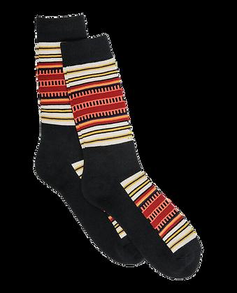 Black Stripes Socks