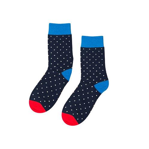 Black Polka Dot Socks