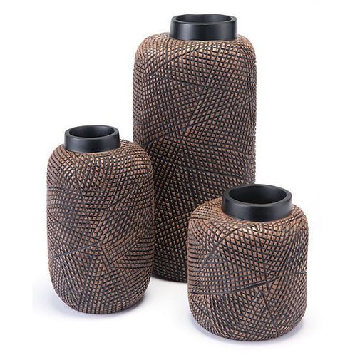 3 Piece Cuadra Vase Collection