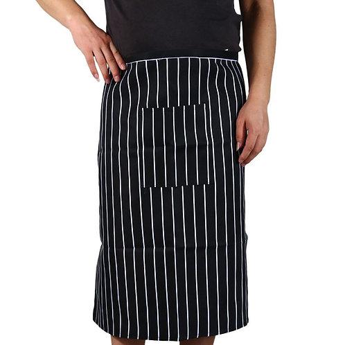 Chef's Striped Half Apron