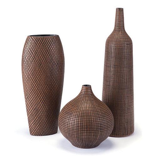 3 Piece Cuadra Tall Vase Collection