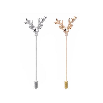 Antlers Lapel Pin