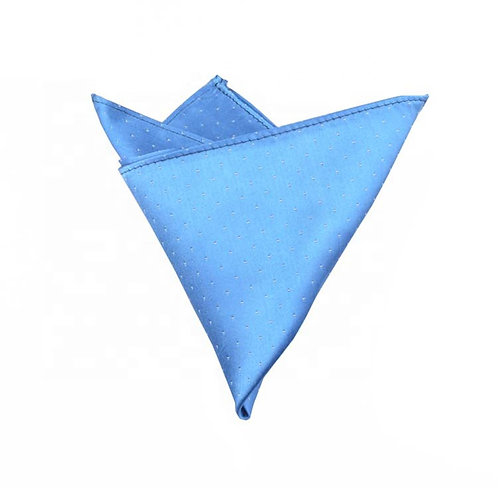 Royal Blue Dotted Pocket Square
