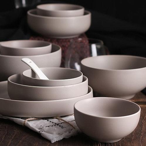 50 Piece Ceramic Dinnerware Set