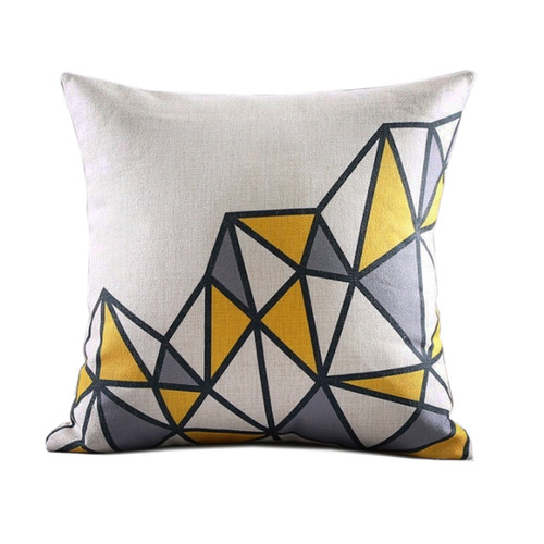 Ilya Geometric Throw Pillow Sanctuary