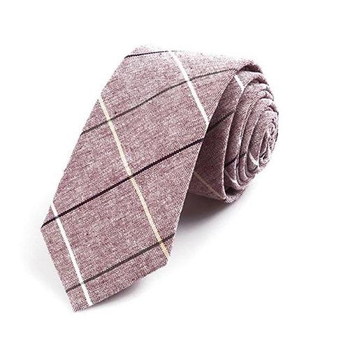 Striped Beige Tie