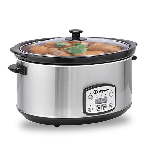 7 Quart Stainless Steel Slow Cooker