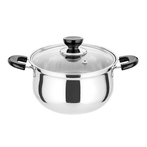 4QT Stainless Steel Saucepan