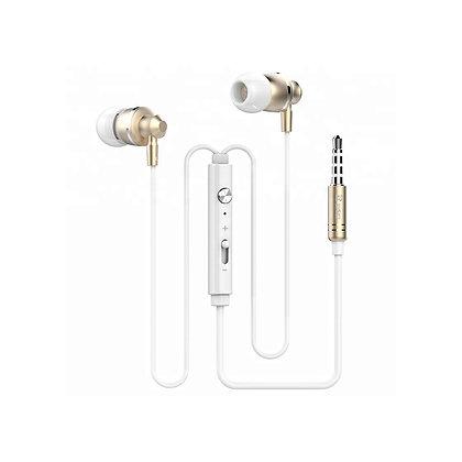 EK300 Gold Tone Bluetooth Earbuds