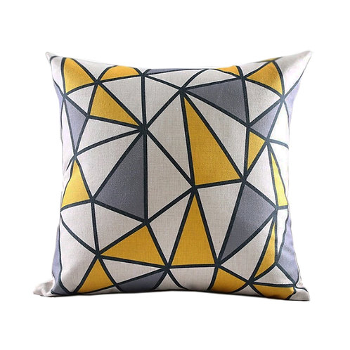 Hudson Geometric Throw Pillow