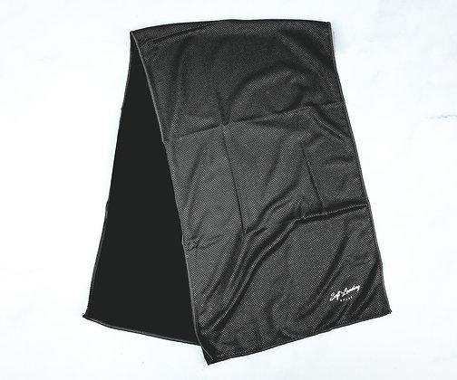 Matte Black Cooling Towel