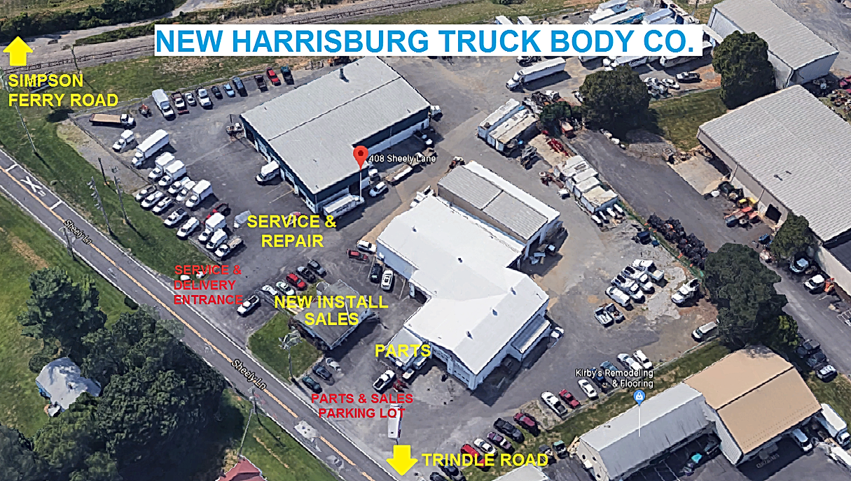New Harrisburg Truck Body Co Truck Body And Parts