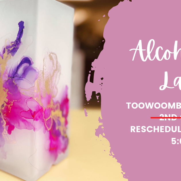 TOOWOOMBA - TCC - Learn to make an Alcohol Ink Lamp!