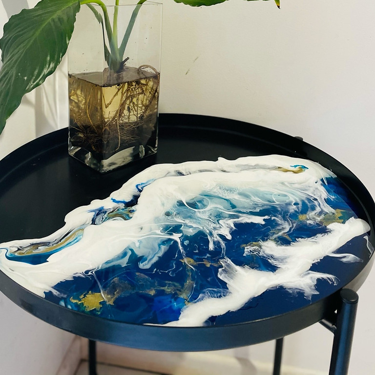 TENTERFIELD - Community College - Resin Top Side Table
