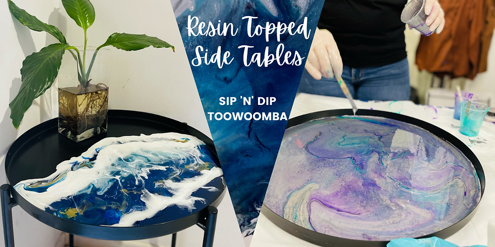 TOOWOOMBA - TCC - Resin Top Side Table