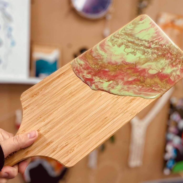 TOOWOOMBA - Stellarossa - Learn to make a resin paddle board!
