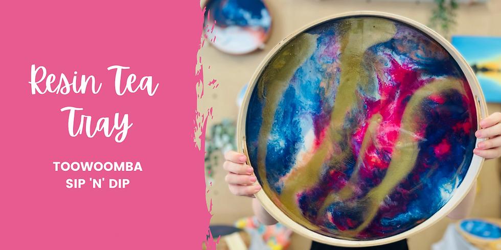 TOOWOOMBA - TCC - Learn to make a resin tea tray!