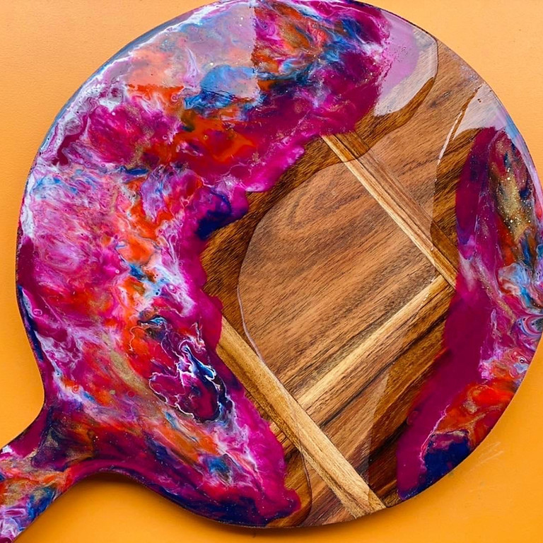 TOOWOOMBA - The Coffee Club - Learn to make a resin serving board!