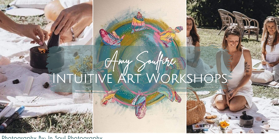 Amy Soulfire Intuitive Arts Workshop