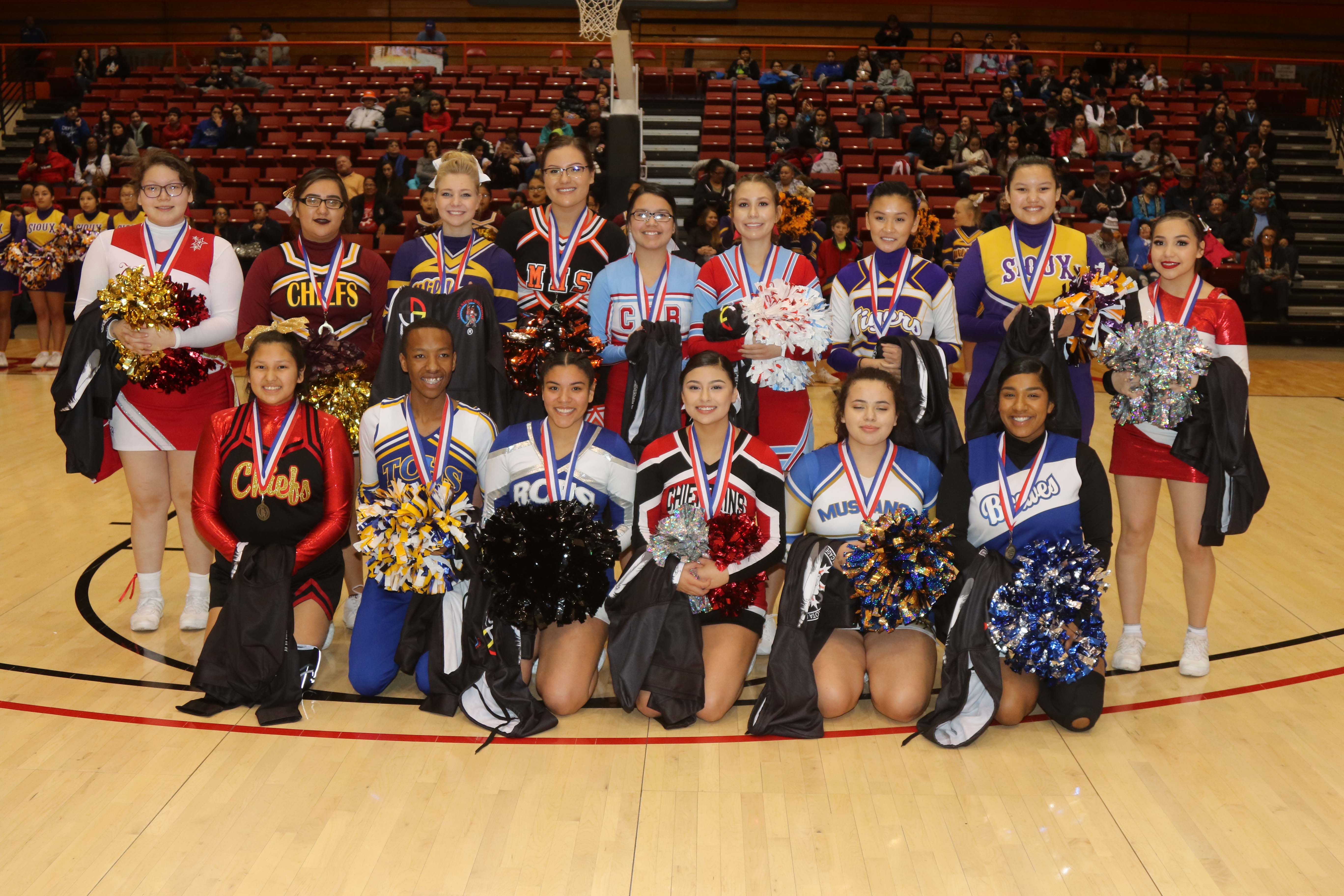 All Tourney Cheerleaders