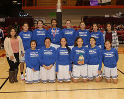 Lady Crusaders 3rd Place