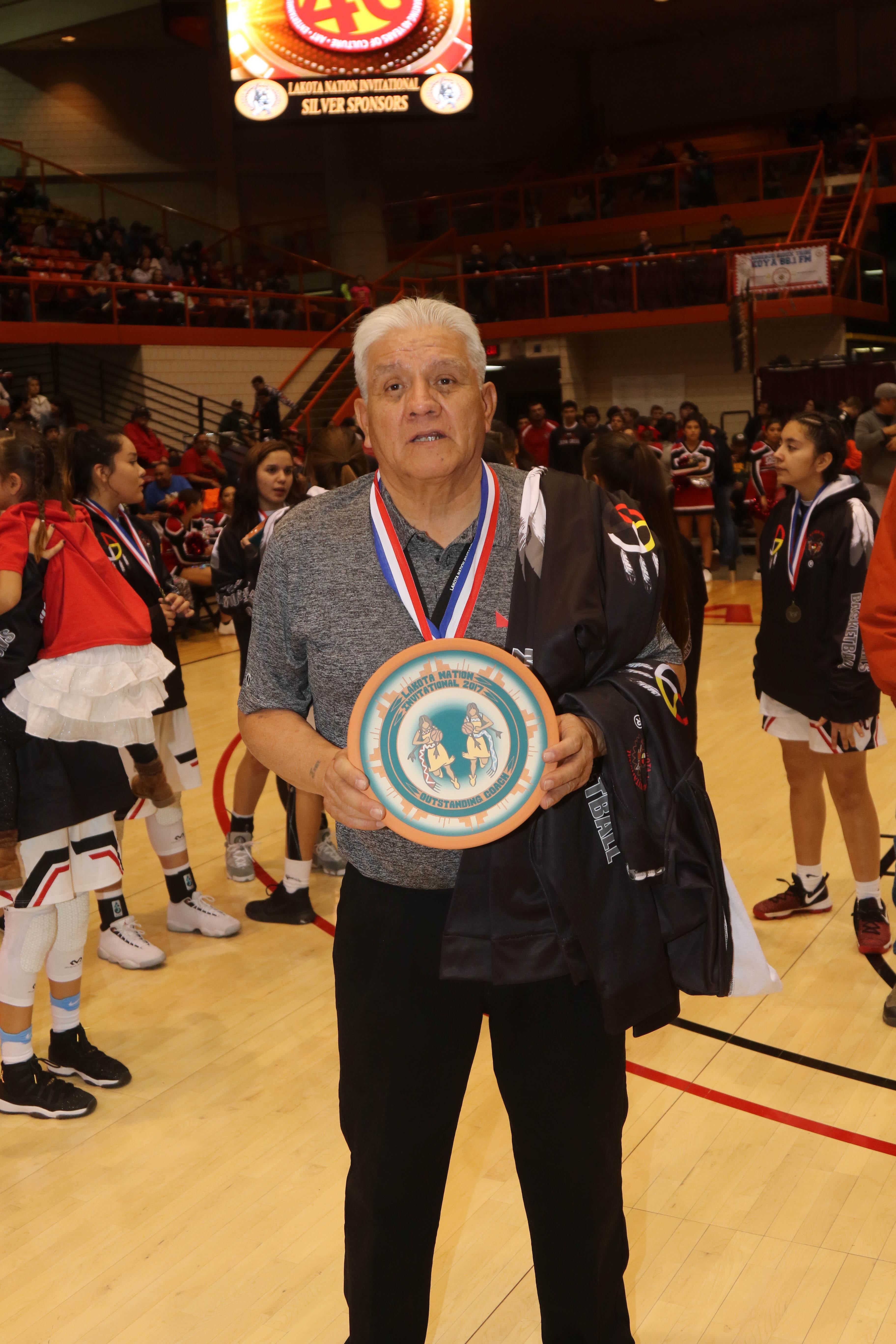 Outstanding Girl's Coach Vilas Fallis