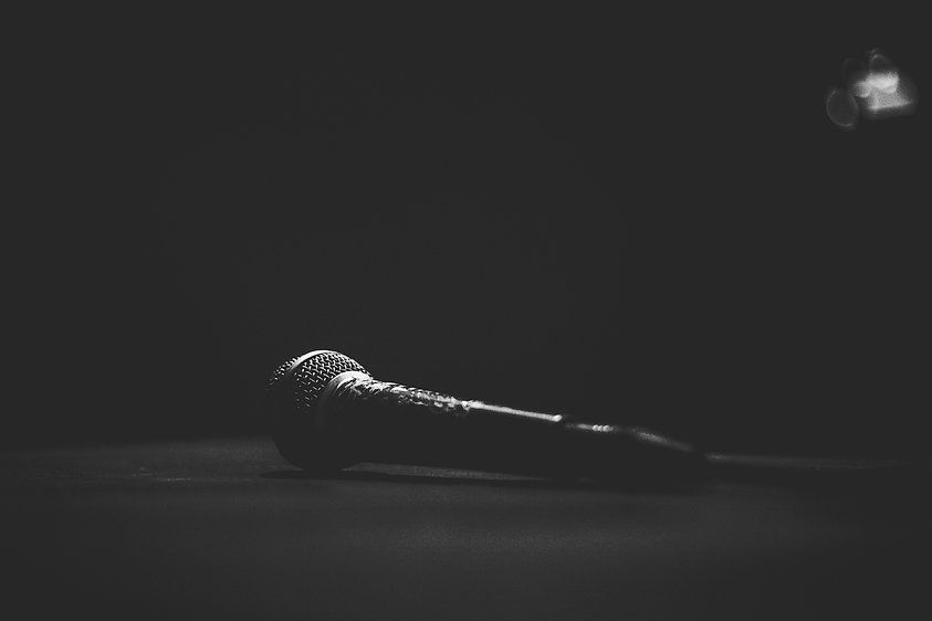 Microphone for sound, music, karaoke in