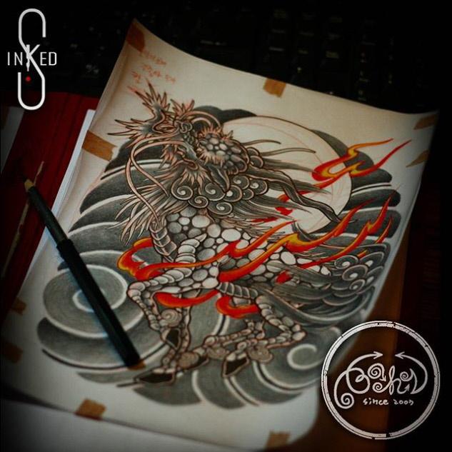 INKED S TATTOO ARTWORK