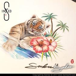 by Inked S tattoo studio