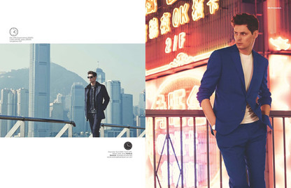 GQ Magazine Hong Kong Shoot