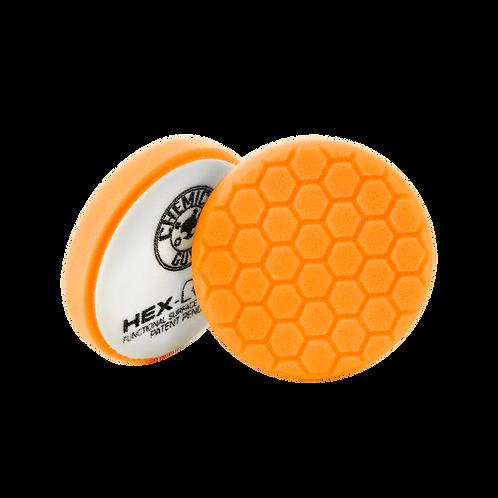 "Chemical Guys HEX-LOGIC 5.5"" Orange Medium-Heavy Cutting Pad"