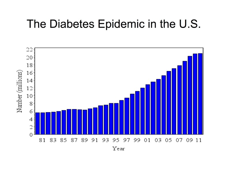 Diabetes Epidemic in USA
